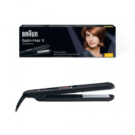 Braun Satin Hair 5 ST 510 Haarglätter  Patentierte flexibel gelagerte Keramikplatten