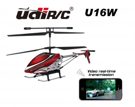 RC Udi/Rc U16W Koaxial - Hubschrauber WiFi iPhone - iPad gesteuert