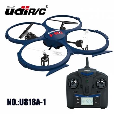 UDI RC U818A-1 HD Quadrokopter Special Edition mit HD Kamera und Tonaufzeichnung, 4 GB Micro SD Speicherkarte