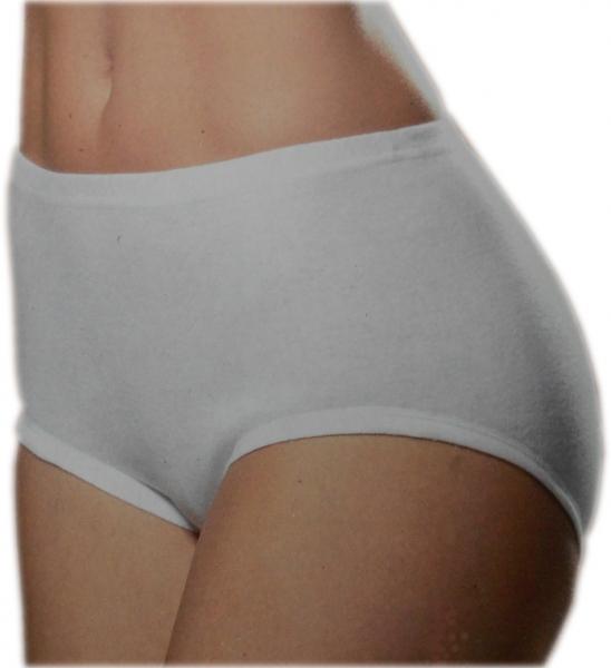 Damen Hüftslip 2er Pack Damenslip Baumwollslip 100% Bio-Baumwolle