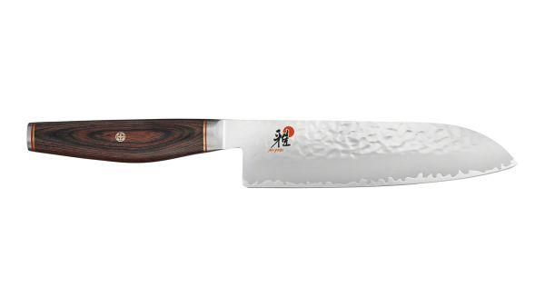 MIYABI 6000MCT SANTOKU 180 mm 7  Fleischmesser Küchenmesser Kochmesser