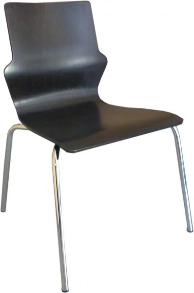 Stuhl Besucherstuhl Konferenzstuhl Stapelstuhl Wenge  Nowy Styl