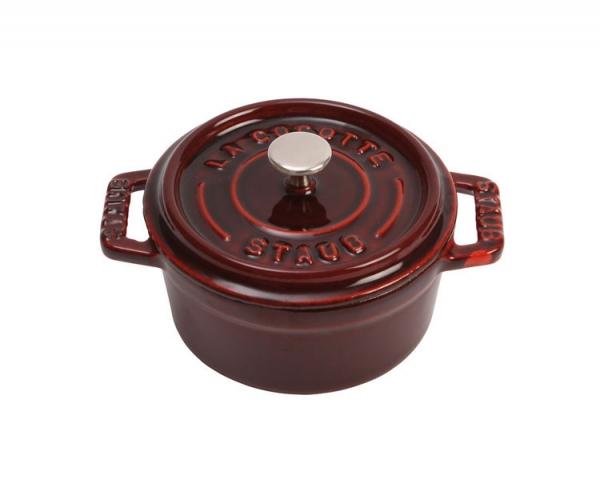 Staub Cocotte Bräter  28 cm grenadinerot rund