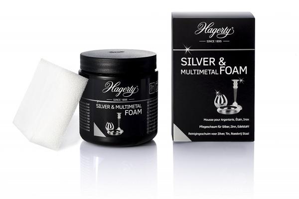 Hagerty Silver Foam Silberschaumreiniger 185g  Allzweckreiniger für Silber und Silberbeschichtungen