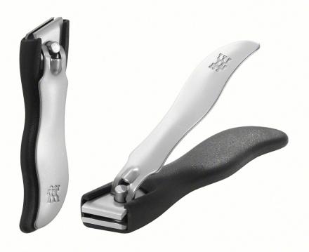 ZWILLING ® rostfreien Nagelknipsern mit Auffangbox in Farbe schwarz