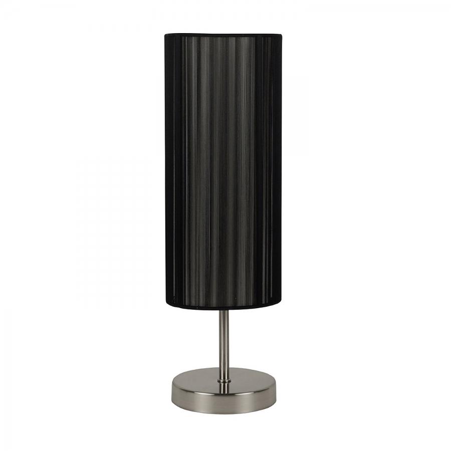 Wonderful Nachttischlampe UDO Schwarz Tisch Lampe Wohnzimmer Design Deko Beleuchtung  43cm