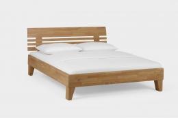 Massivholzbett Wildeiche honig geölt 160 x 200 cm Doppelbett Schlafzimmer