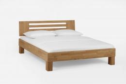 Massivholzbett Wildeiche honig geölt 160 x 200 cm Schlafzimmer Doppelbett