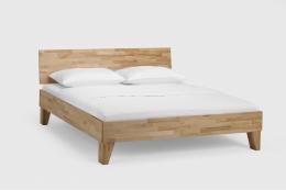 Massivholzbett Buche lackiert 200 x 200 cm Doppelbett Schlafzimmer