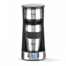 BEEM THERMO 2 GO Single-Filter-Kaffeemaschine - Thermo | Inkl. Thermobecher