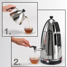 BEEM Samowar Mr. Tea 4l 2500 W Semaver Teebereiter Teekocher
