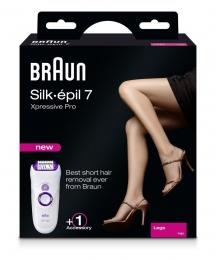 Braun Silk-épil 7 / 7180 Epilierer Xpressive Pro Legs