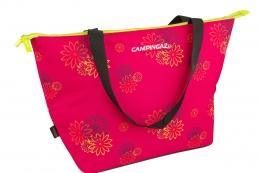 Campingaz Shopping Cooler 15 L Pink Daisy  Robuste hochwertige Tasche Picnictasche