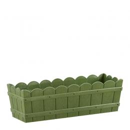Emsa Garten 5er Set COUNTRY Blumenkasten Balkonkasten Pflankasten 75 cm grün