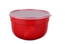 EMSA 6er Set SUPERLINE Colours rot Frischhalteschale Frischhaltedose Vorratsdose 0,6L
