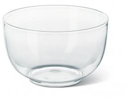 Emsa FIT & FRESH Salatschale Salatschüssel Servierschüssel Transparent, 4,5 L 24 Øcm