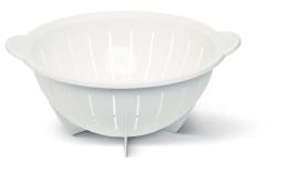 Emsa SUPERLINE Seiher Küchensieb Nudelsieb, Weiß, 28 Ø cm