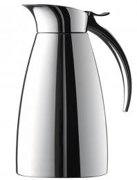 Emsa ELEGANZA Isolierkanne Thermoskanne Isokanne Kaffeekanne Edelstahl, 0,6 L