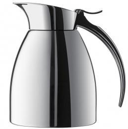 Emsa ELEGANZA Isolierkanne Thermoskanne Isokanne Kaffeekanne Edelstahl, 0,3 L