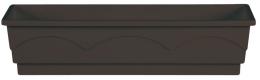 Emsa Blumenkasten LAGO Balkonkasten  Pflanzkasten braun 100 cm