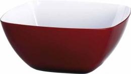 Emsa VIENNA Schälchen, Transparent Rot/Weiß 14 Ø cm