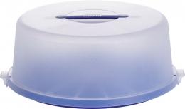 Emsa Partybutler Tortenbutler Tortenbehälter Kuchenbehälter blau 33 Ø cm