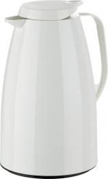 Emsa Thermoskanne Isokanne Kaffeekanne Isolierkanne Thermoskanne Kaffeekanne 1,5l weiss
