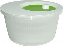 Emsa Salatschleuder, Weiß/Grün, 4,0 L
