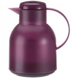 Emsa SAMBA Isolierkanne Thermoskanne Kaffeekanne QP 1l aubergine