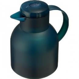 Emsa SAMBA Isolierkanne Thermoskanne Kaffeekanne Thermoskanne Kaffeekanne QP 1l transl.-türkis