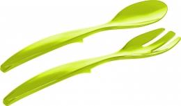 Emsa VIENNA Salatbesteck Servierbesteck Salatlöffel Servierlöffel hellgrün