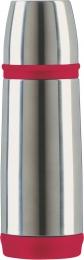 Emsa CAPTAIN Isolierflasche Trinkflasche Reiseflasche Trinkflasche Reiseflasche 0,35l rot/Edelstahl