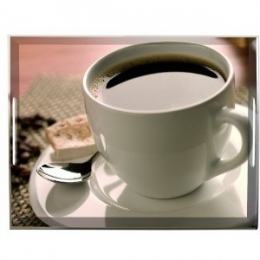 Emsa Tablett Serviertablett 50x37cm COFFEE