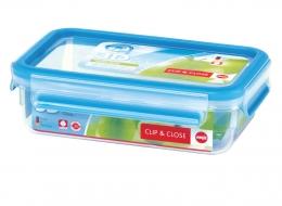 Emsa Clip & Close 3D Perf Clean Frischhaltedose Frischhaltebox  - recht 0,80L