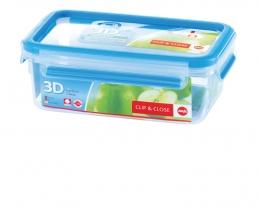 Emsa Clip & Close 3D Perf Clean Frischhaltedose Frischhaltebox  - recht 1,00L