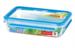 Emsa Clip & Close 3D Perf Clean Frischhaltedose Frischhaltebox  - recht 1,20L