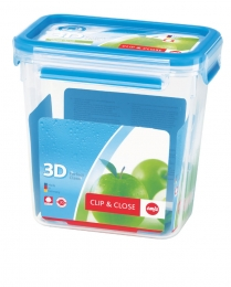 Emsa Clip & Close 3D Perf Clean Frischhaltedose Frischhaltebox  - recht 1,60L
