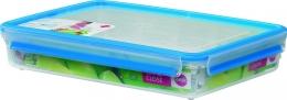 Emsa Clip & Close 3D Perf Clean Frischhaltedose Frischhaltebox  - recht 2,60L