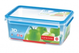 Emsa Clip & Close 3D Perf Clean Frischhaltedose Frischhaltebox  - recht 3,70L