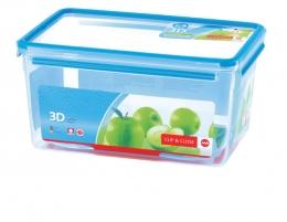 Emsa Clip & Close 3D Perf Clean Frischhaltedose Frischhaltebox  - recht 8,20L