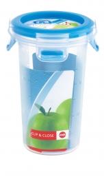Emsa Clip & Close 3D Perf Clean Frischhaltedose Frischhaltebox  - rund 0,35L