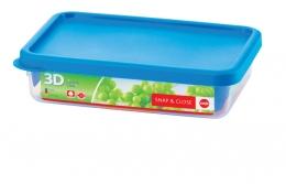 Emsa Snap & Close 3D Perf Clean Frischhaltedose Frischhaltebox  - recht 1,10L