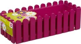 Emsa LANDHAUS Blumenkübel Balkonkasten Blumenkasten 75 cm, pink