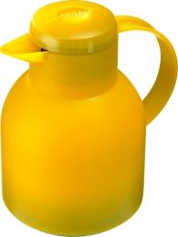Emsa SAMBA Isolierkanne Thermoskanne Kaffeekanne transl. gelb 1,0L