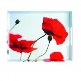 Emsa CLASSIC Tablett Serviertablett 50x37 cm Corn poppies