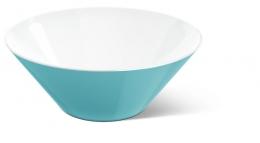 Emsa myCOLOURS Salatschale Salatschüssel Servierschüssel VARO Schale aquamarine 2,5L
