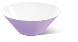 Emsa myCOLOURS Salatschale Salatschüssel Servierschüssel VARO Schale hellviolett 2,5L