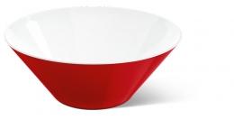 Emsa myCOLOURS Salatschale Salatschüssel Servierschüssel VARO Schale rot 1,25L