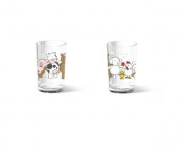 Emsa KIDS Trinkbecher Kindertasse Kinderbecher Kinderglas 0,2L Farm Family