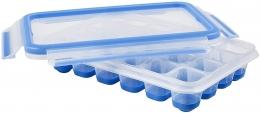 EMSA CLIP &CLOSE Eiswürfelbox Eiswüfelbereiter, rechteckig, Transparent